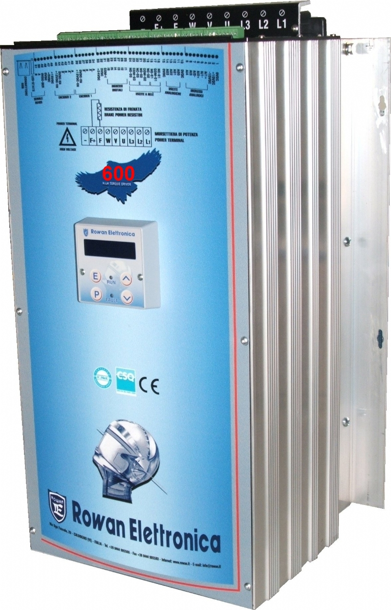 Azionamenti digitali C600 per motori dc
