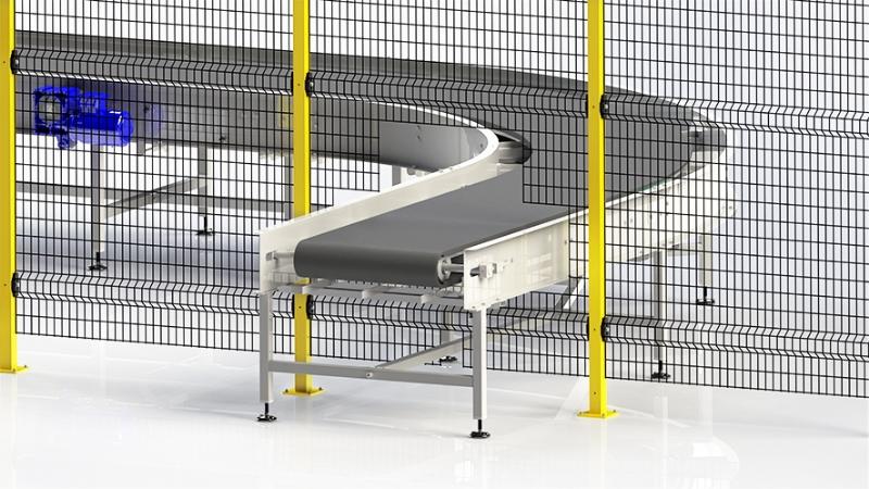 AdaptaGuard - protezione macchine senza telaio facilmente adattabile in corso d'opera
