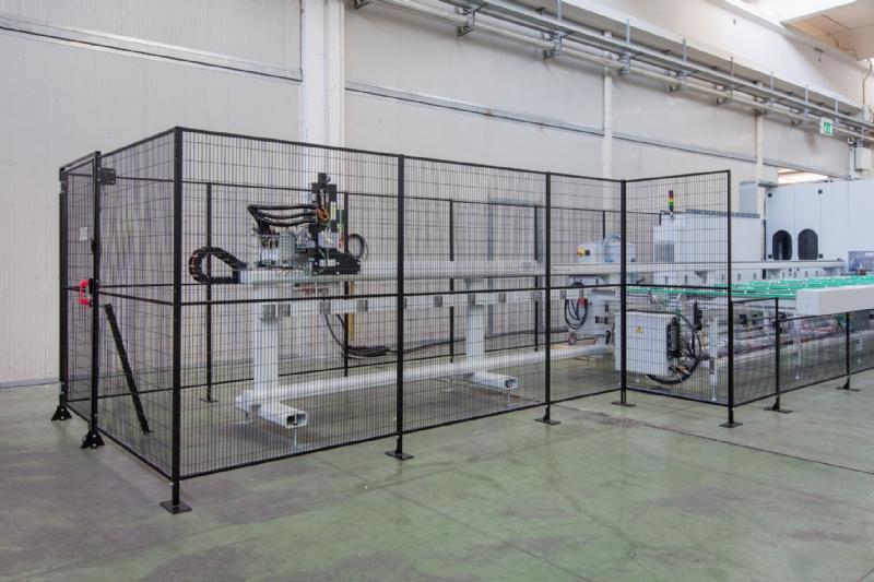 GreenFast - ripari a montaggio rapido per logistica e separazione ambienti industriali