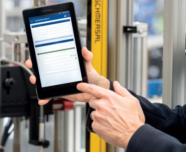 Cortine ottiche di sicurezza con interfaccia Bluetooth