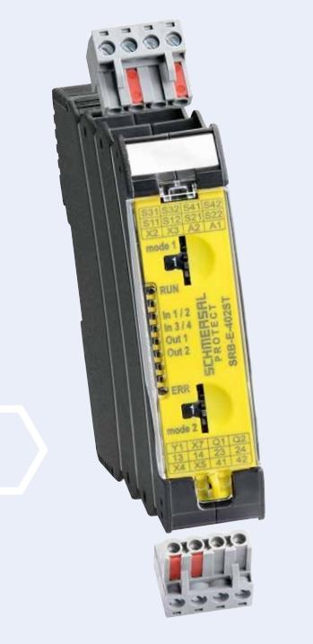 Moduli di sicurezza a relè multifunzionali PROTECT SRB-E