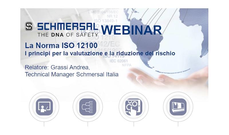Webinar Schmersal: La Norma ISO 12100