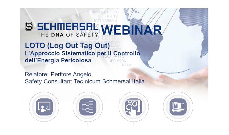 WEBINAR SCHMERSAL: LOTO (Lock Out Tag Out)