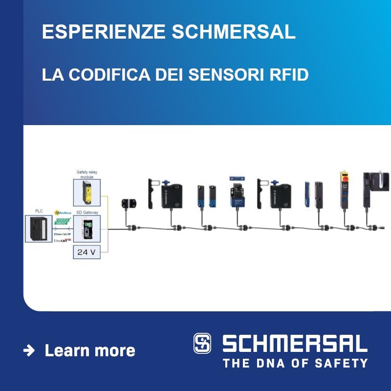 WEBINAR SCHMERSAL: La codifica dei sensori RFID