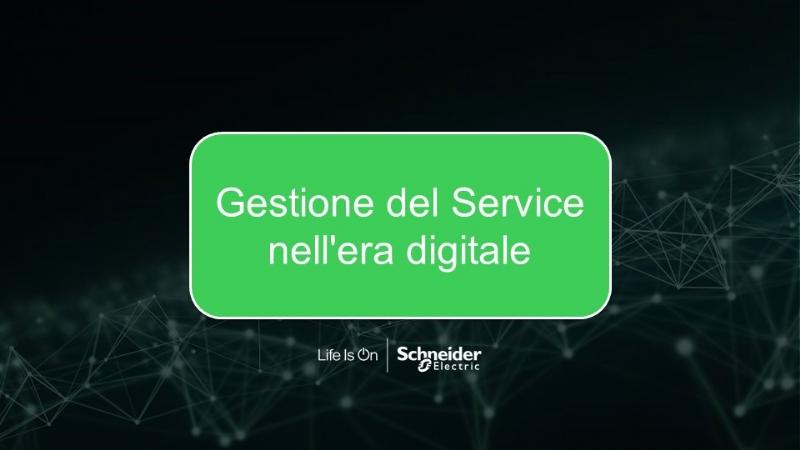 Gestione del Service nell'era digitale