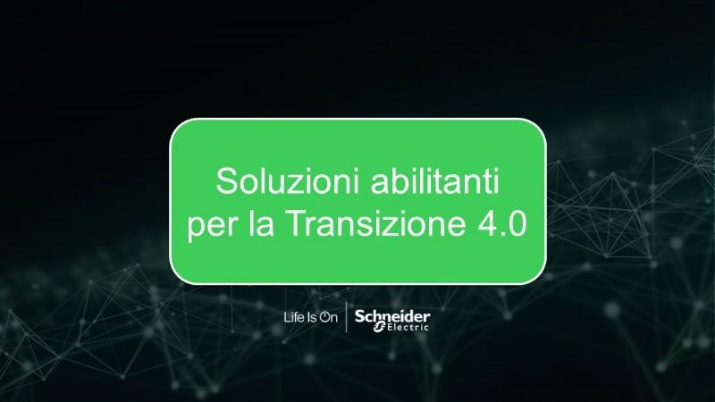 Soluzioni abilitanti per la Transizione 4.0