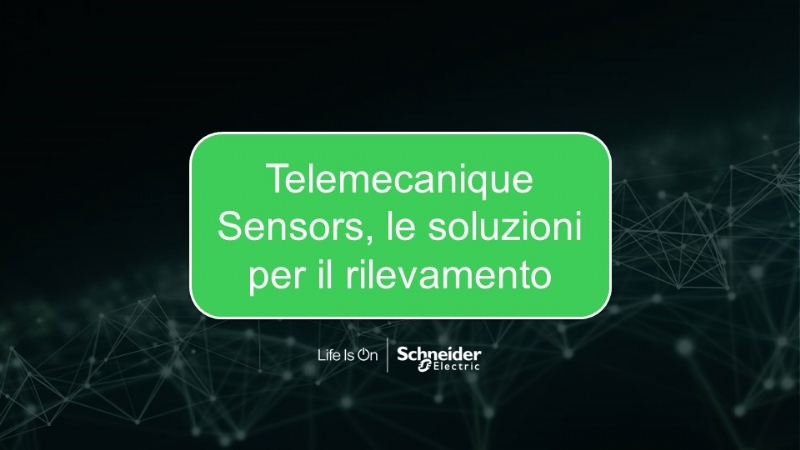Telemecanique Sensors, le soluzioni per il rilevamento
