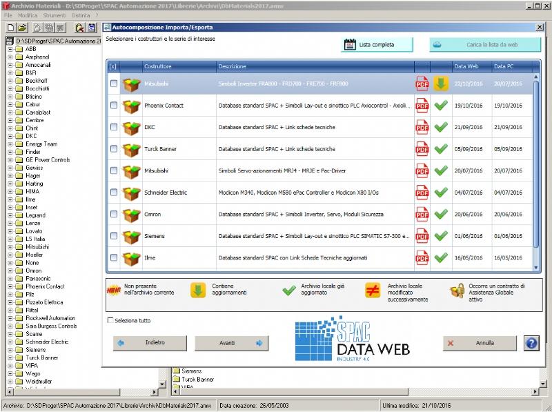 SPAC Data Web