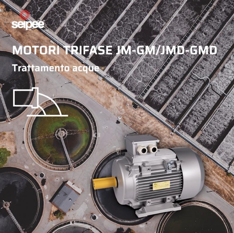 Motori Asincroni Trifase JM-GM / JMK-GMK