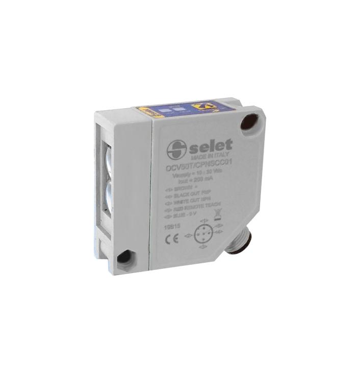 Serie OCV50T/C - Fotocellule per il rilevamento di oggetti trasparenti