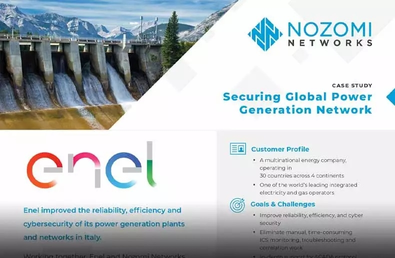 Nozomi Networks, Anomaly Detection for Plants