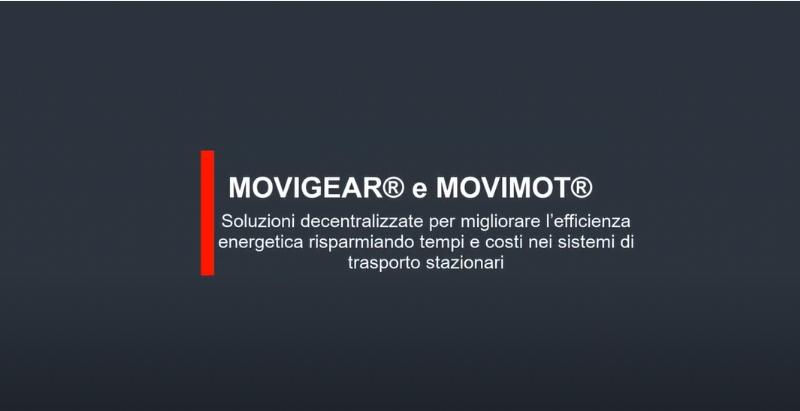 Soluzioni decentralizzate SEW-EURODRIVE