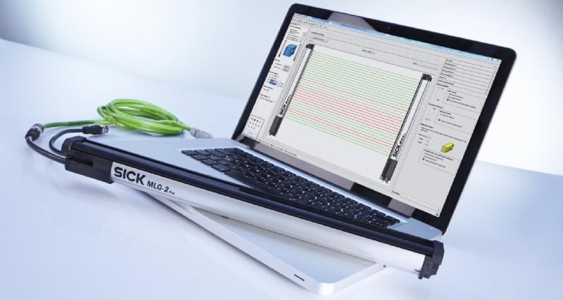 Barriere fotoelettriche di misura MLG-2 WebChecker
