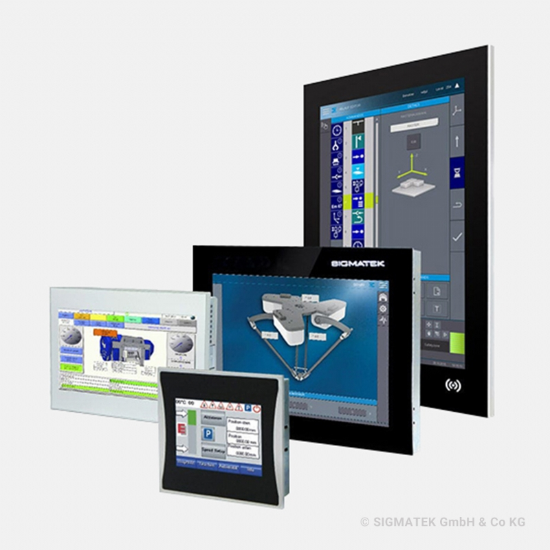 HMI CON TOUCH SCREEN