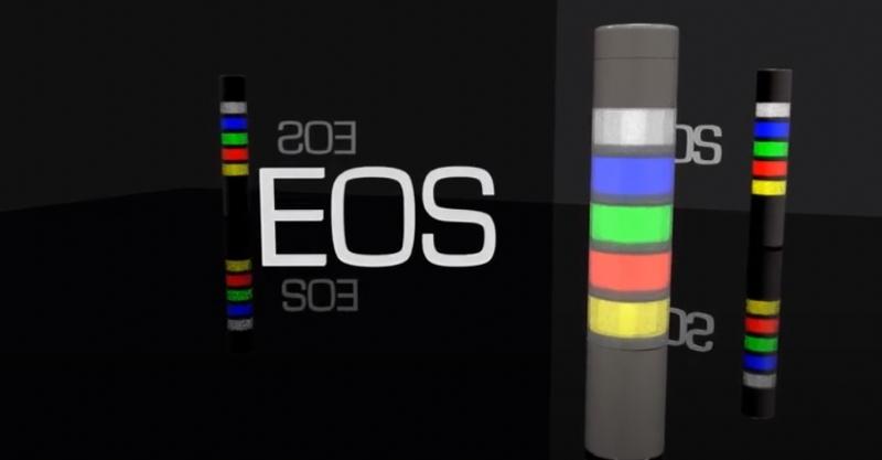 EOS: colonne modulari a LED