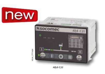 ATyS C25, Centralina di commutazione automatica ATS , funzionalità di base