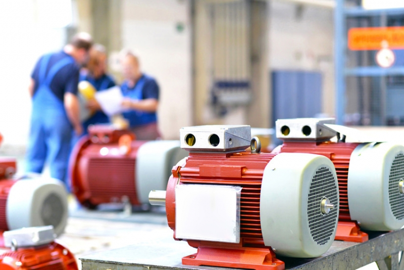 Safe and efficient motor and drive solution for 48V industrial motor (narrated presentation)