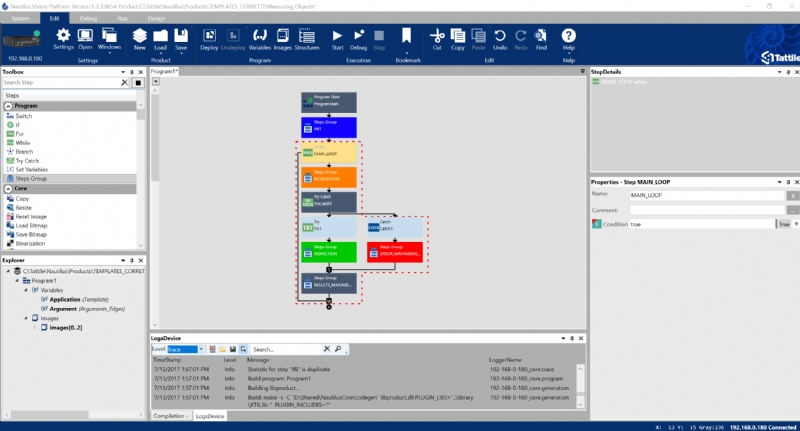 Nautilus Vision Platform