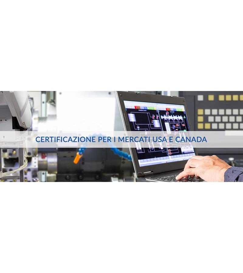 Consulenza e Servizio di certificazione per il mercato nordamericano