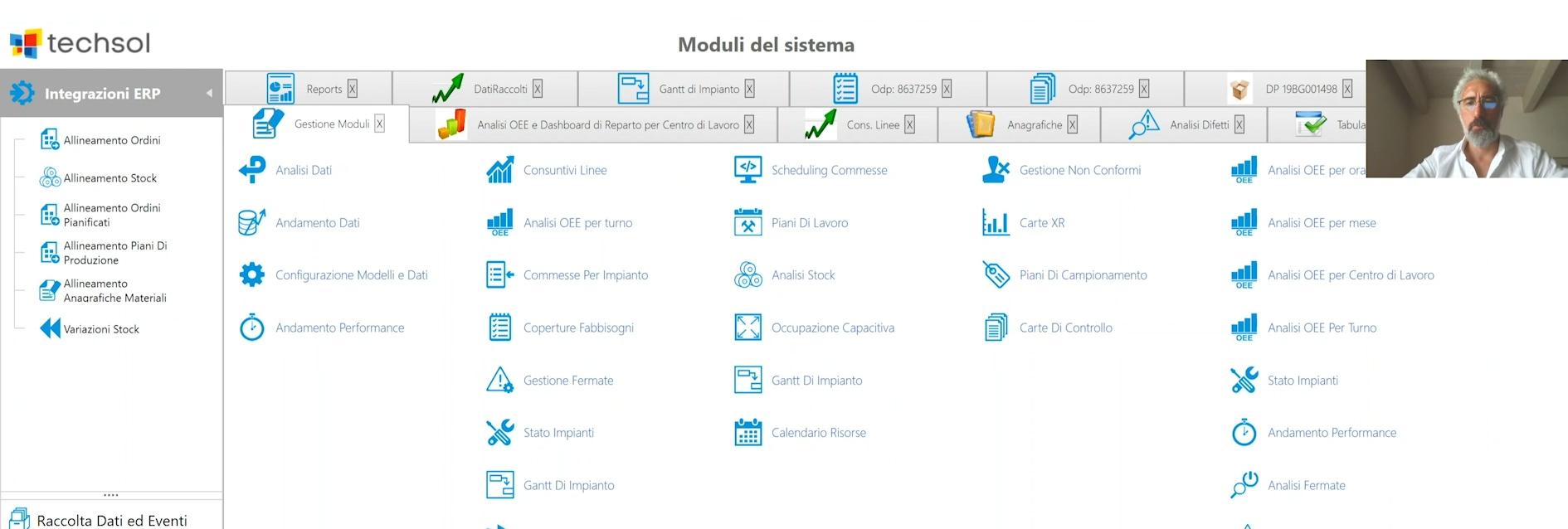 MES t.fabrica: controllo, pianificazione e monitoraggio delle attività produttive