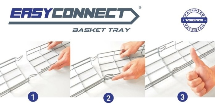 EASY CONNECT - Basket Tray