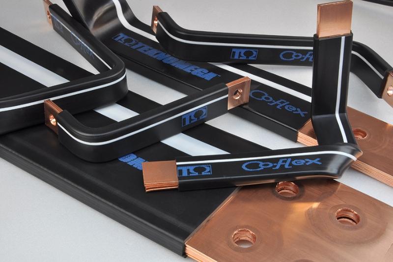 Co-flex: Barra flessibile  in rame isolata