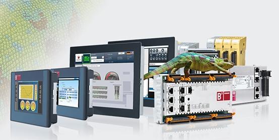 Berghof: Controllore con pannello integrato programmabile da 4'