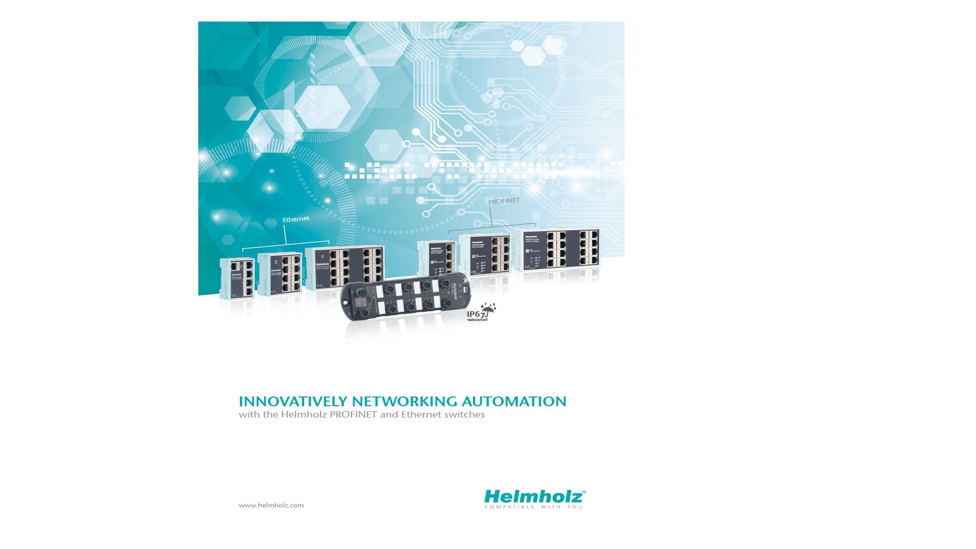 Helmholz: confronto tra PROFINET switch rispetto agli switch tradizionali