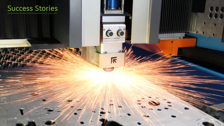 Supplier of laser and sheet metal fabrication machines provides services globally using secure remote acces