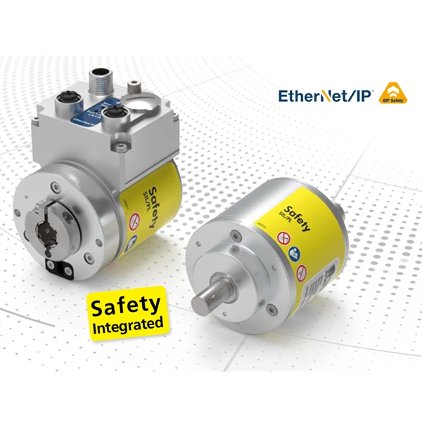 TR Electronic: Encoder assoluto compatto SIL2/SIL3 CIPsafety Ethernet IP