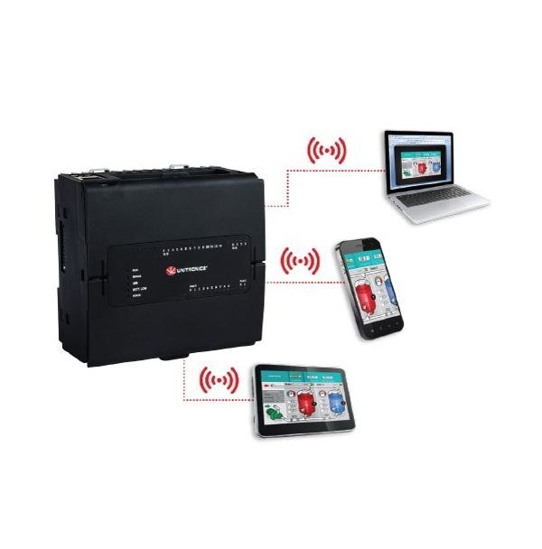 UNITRONICS: PLC Unistream con Virtual HMI