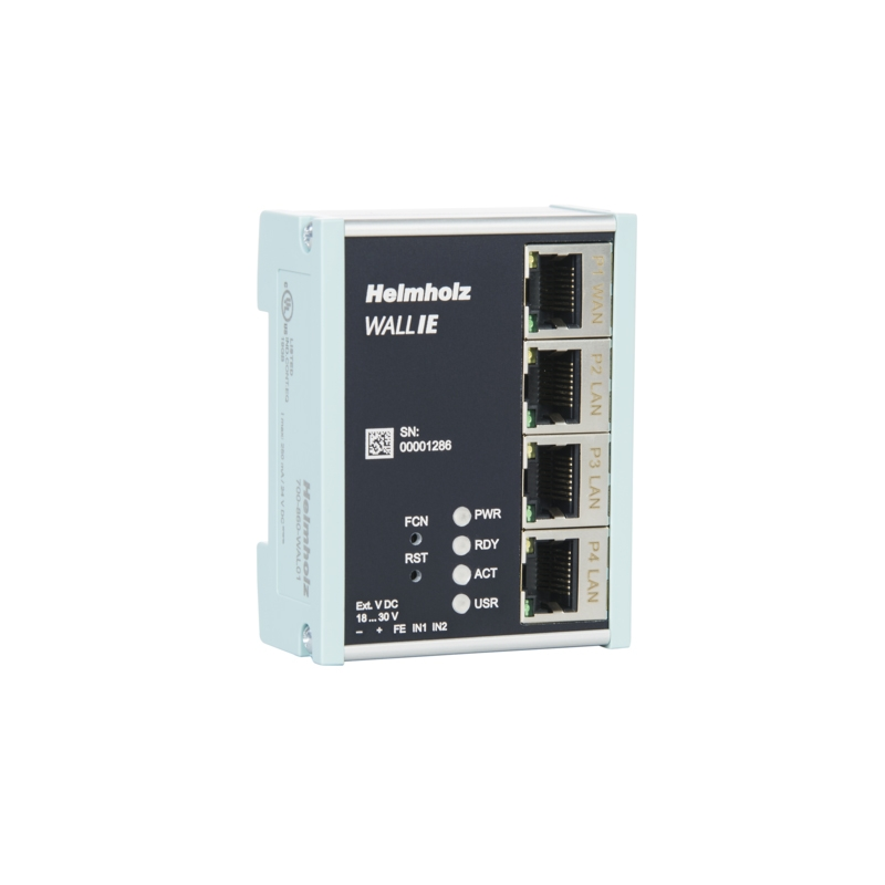 Helmholz: NAT Gateway/Firewall Industriale WALL IE