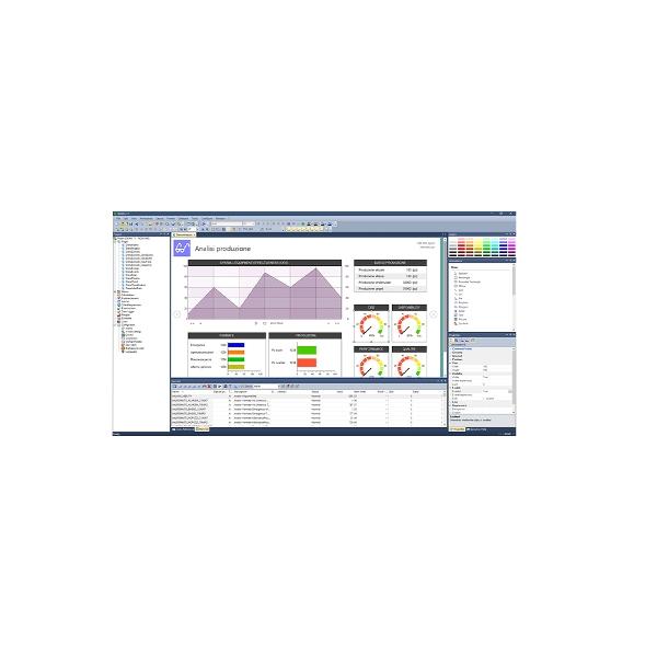 Crickets Automation: X-VISION, Software di supervisione con solide fondamenta Scada ed HMI