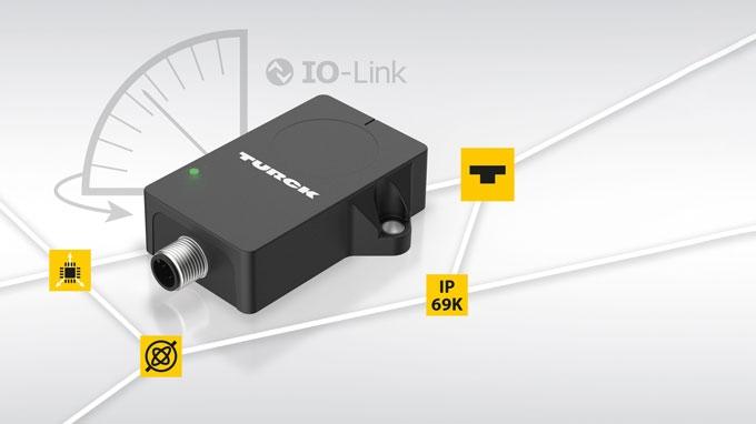 Nuovi sensori inclinometri con IO-Link combinano segnali MEMS e sensore giroscopio per applicazioni in movimento