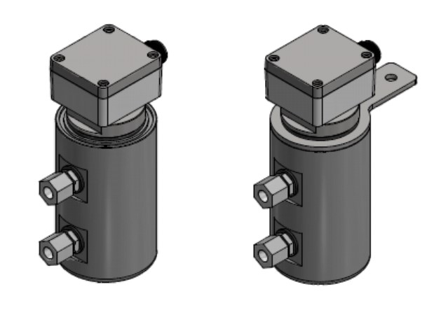 CAGE - magnetic float switch side mounting with external chamber