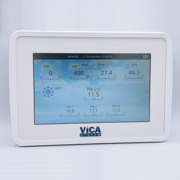 AIR MONITOR - Misuratore qualità dell'aria, misura PM e VOC