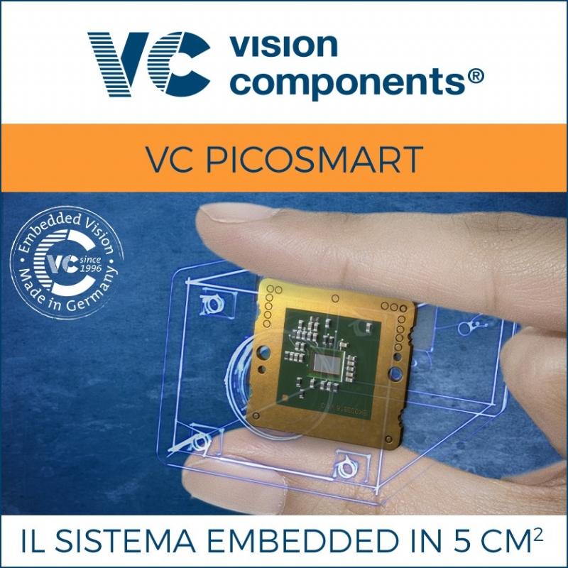 Il sistema di visione embedded più piccolo al mondo