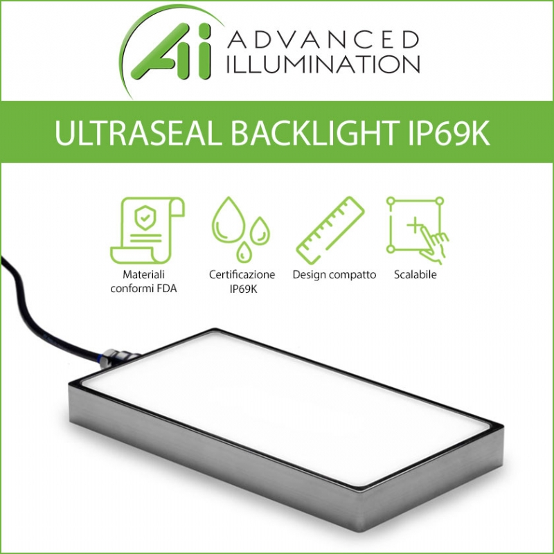 Illuminatore backlight IP69K