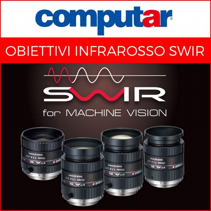 Obiettivi SWIR per Machine Vision