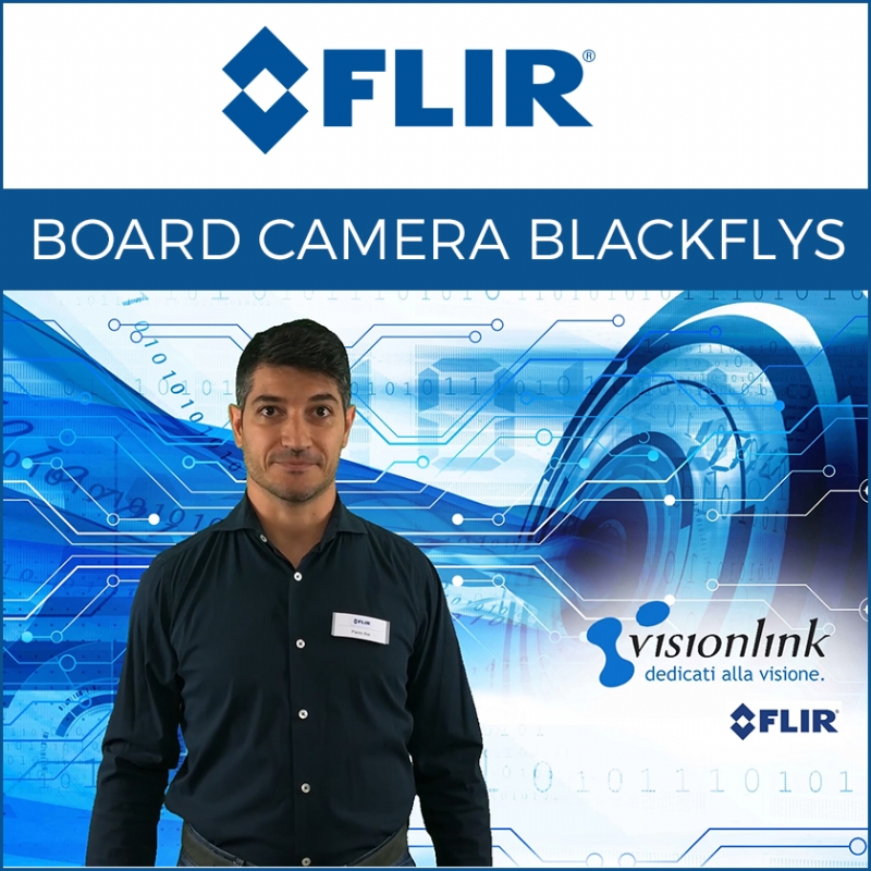 DEMO telecamere BlackflyS board level FLIR