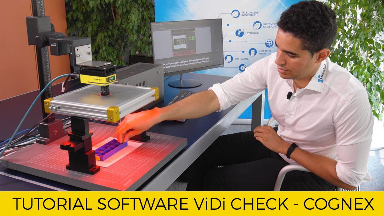 Tutorial Software DeepLearning: ViDi Check, ViDi OCR e ViDi Detect di Cognex