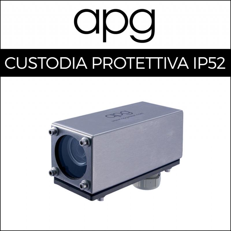 Custodie protettive con compatibilità universale per telecamere machine vision