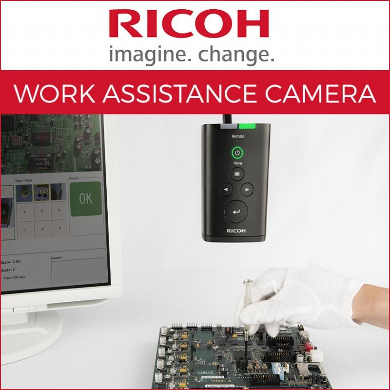 Sistema Ricoh per controllo assemblaggio manuale SC-10A - specifiche tecniche