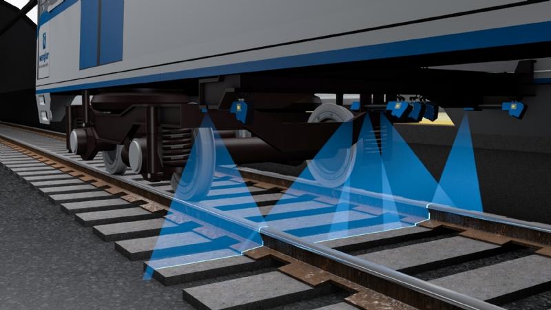 Reti ferroviarie più sicure con i sensori di profilo 2D/3D wenglor