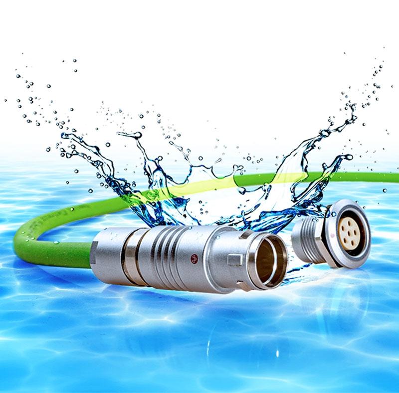Il connettore circolare push-pull waterproof