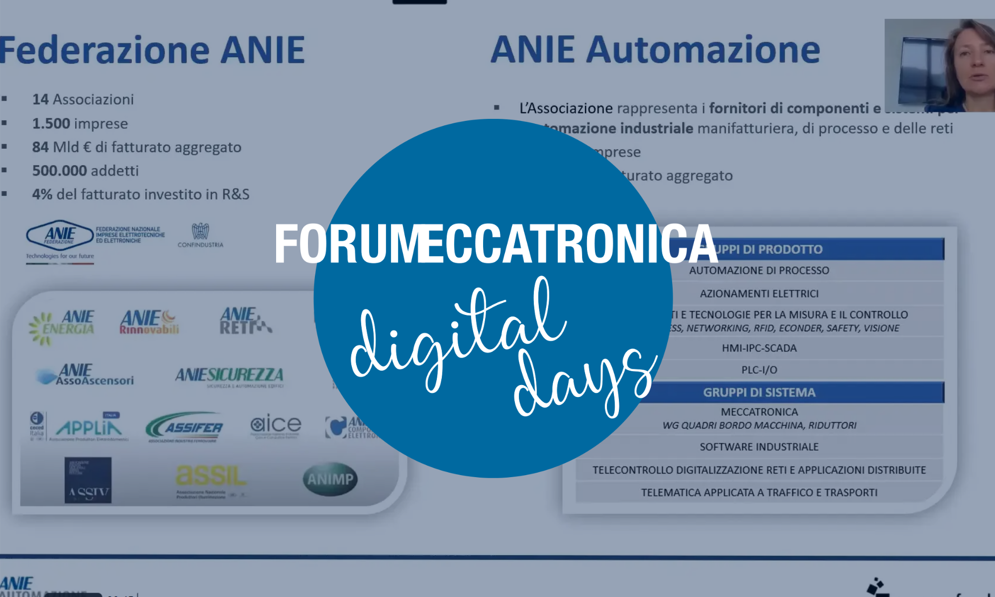 Sabina Cristini - Introduzione a Forum Meccatronica Digital Days